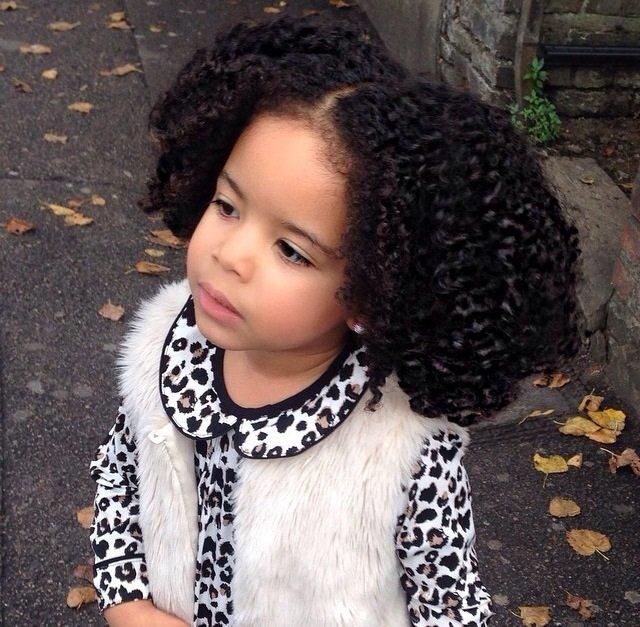 CurlyKids - For A Curly World - Ambassadors - United Kingdom - Amaiya Rose
