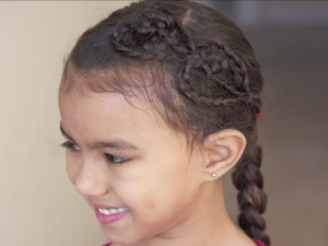 CurlyKids - For A Curly World - Video - Valentine's Day Hair Hearts