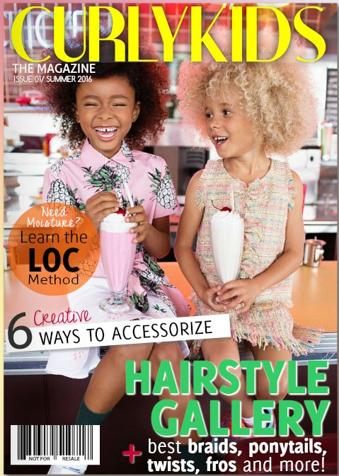 The CurlyKids Magazine Is Here